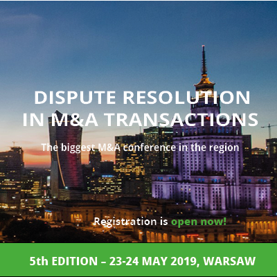 Dispute resolution in M&A transactions