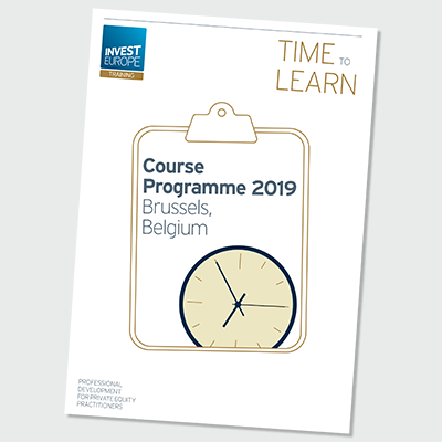 Invest Europe Course Programme 2019